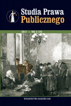 Studia Prawa Publicznego 3(19)/2017