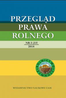 Przegląd Prawa Rolnego 2(23)/2018