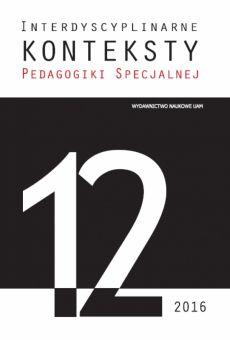 Interdyscyplinarne Konteksty Pedagogiki Specjalnej 12/2016. Dyskurs emancypacyjny w pedagogice specjalnej część II