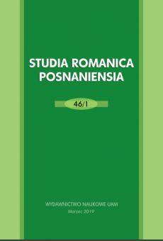 Studia Romanica Posnaniensia 46/1. Les études comparatives des points de vue synchronique et diachronique