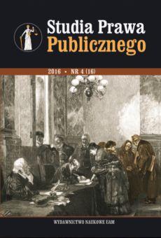 Studia Prawa Publicznego 4(16)/2016
