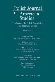 Polish Journal for American Studies, Vol. 6