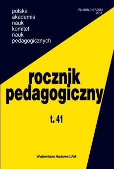 Rocznik Pedagogiczny t. 41
