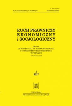 Ruch Prawniczy, Ekonomiczny i Socjologiczny 1/2017