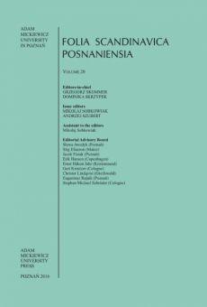 Folia Scandinavica Posnaniensia, Vol. 20