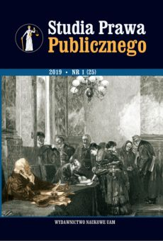 Studia Prawa Publicznego 1(25)/2019