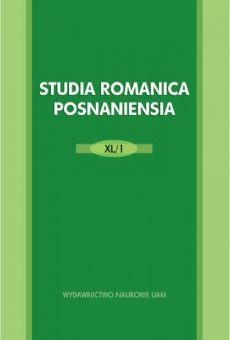 Studia Romanica Posnaniensia XL/1