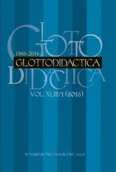 Glottodidactica, Vol. XLIV/1