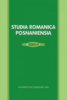 Studia Romanica Posnaniensia XXXIX/4