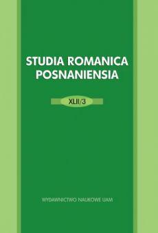 Studia Romanica Posnaniensia XLII/3