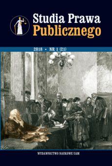 Studia Prawa Publicznego 1(21)/2018