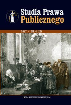 Studia Prawa Publicznego 4(20)/2017