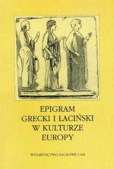 Epigram grecki i łaciński w kulturze Europy