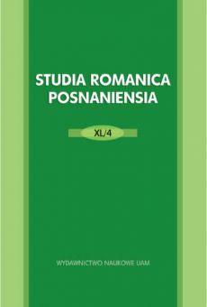 Studia Romanica Posnaniensia XL/4