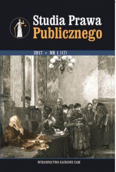 Studia Prawa Publicznego 1(17)/2017