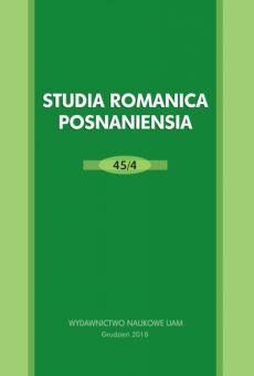 Studia Romanica Posnaniensia 45/4. Traducteur et texte