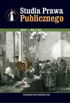 Studia Prawa Publicznego 3(23)/2018