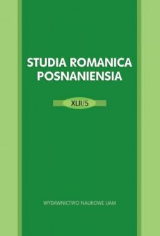 Studia Romanica Posnaniensia XLII/5: Themas and approaches in Romance and Latin diachronic linguistics