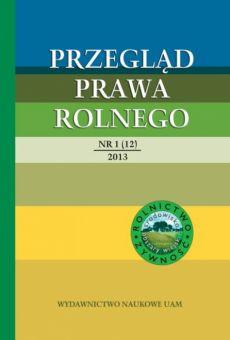 Przegląd Prawa Rolnego 1(12)/2013