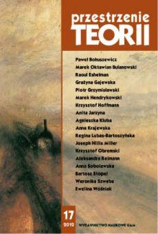 Przestrzenie Teorii 17/2012