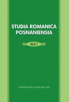 Studia Romanica Posnaniensia XLII/1