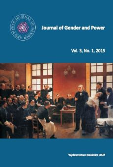 Journal of Gender and Power, Vol. 3, No. 1, 2015