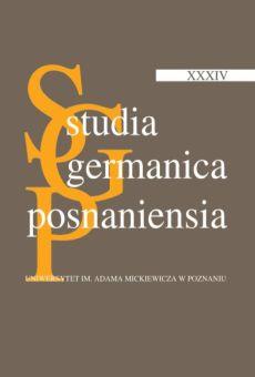 Studia Germanica Posnaniensia, v. XXXIV