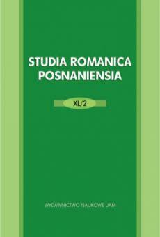 Studia Romanica Posnaniensia XL/2