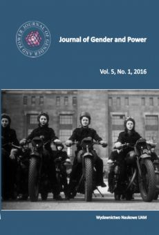 Journal of Gender and Power, Vol. 5, No. 1, 2016