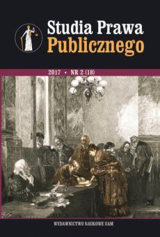 Studia Prawa Publicznego 2(18)/2017