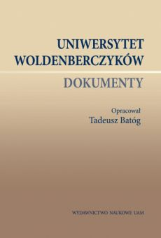 Uniwersytet Woldenberczyków. Dokumenty