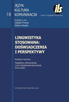 Lingwistyka stosowana: doświadczenia i perspektywy