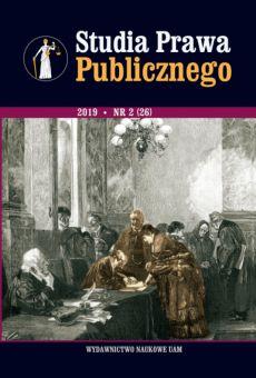 Studia Prawa Publicznego 2(26)/2019