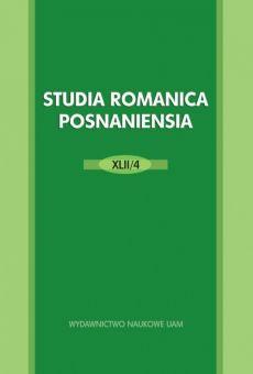 Studia Romanica Posnaniensia XLII/4