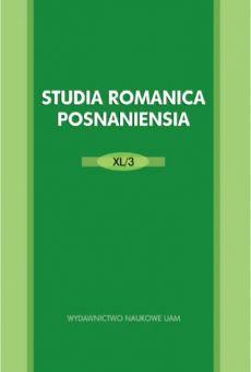 Studia Romanica Posnaniensia XL/3