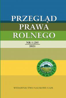 Przegląd Prawa Rolnego 1(28)2021