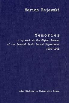 Memories of my work at the Cipher Bureau of the General Staff Second Department 1930–1945