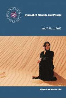 Journal of Gender and Power, Vol. 7, No. 1, 2017