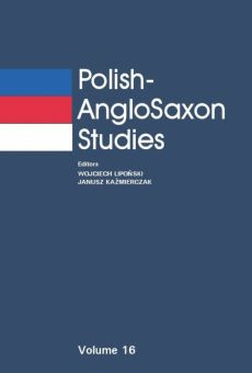 Polish-AngloSaxon Studies, Vol. 16