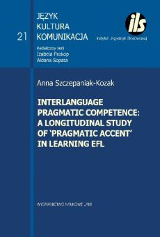 Interlanguage pragmatic competence: a longitudinal study of 'pragmatic accent' in learning EFL