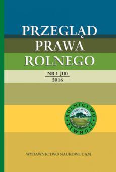 Przegląd Prawa Rolnego 1(18)/2016