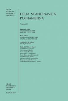 Folia Scandinavica Posnaniensia, Vol. 19