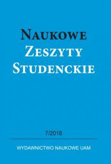Naukowe Zeszyty Studenckie 7/2018. Edukacja – szkoła – innowacja