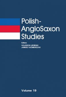 Polish-AngloSaxon Studies, Vol. 19