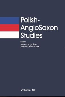 Polish-AngloSaxon Studies, Vol. 18