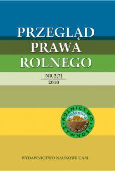 Przegląd Prawa Rolnego 2(7)2010