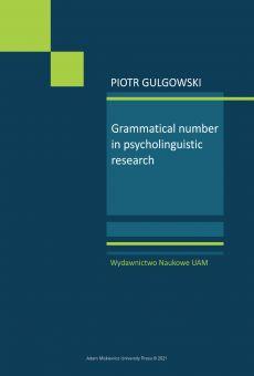 Grammatical number in psycholinguistic research
