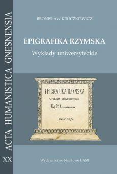 Epigrafika rzymska. Wykłady uniwersyteckie (PDF)
