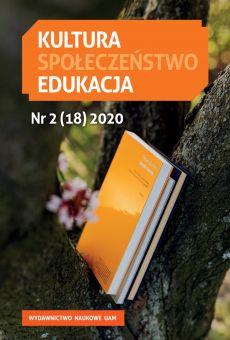 Kultura – Społeczeństwo – Edukacja 2/18/2020