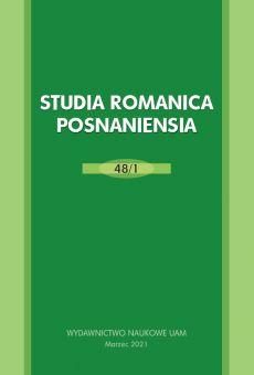 Studia Romanica Posnaniensia 48/1. Le temps et les saisons